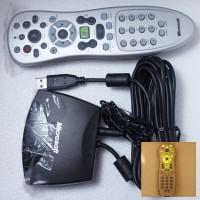Genuine Microsoft Media center MCE Remote RC6 W/ IR Receiver 4 WIN7 Vista